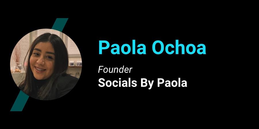 Paola Ochoa teen entrepreneur