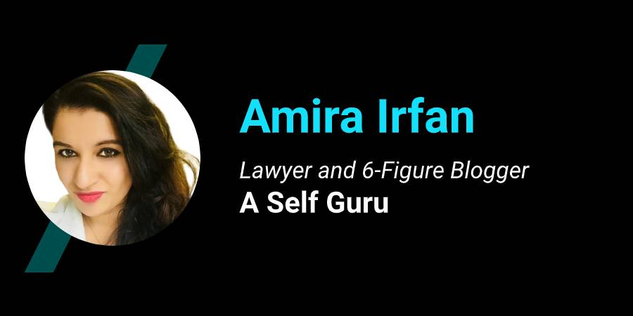 Amira ASELFGURU six-figure blogger lawyer